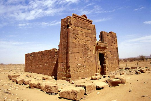 Il tempio di Naga in Nubia, la terra dei faraoni neri