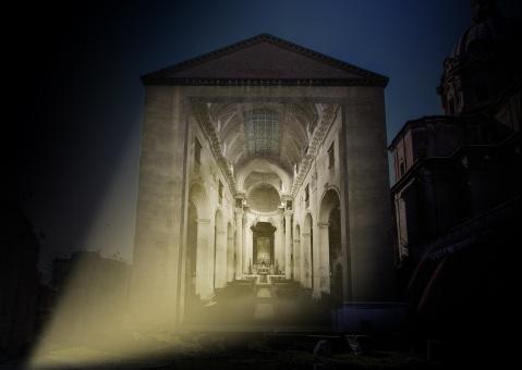 Lo spettacolo al Foro di Cesare permetterà al pubblico di accedere nelle viscere dei Fori imperiali sotto il livello stradale