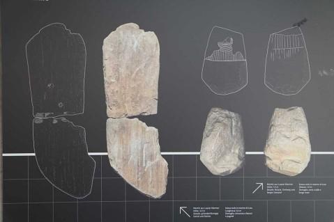 A Vezzano in Val Venosta (Alto Adige) sono state rinvenute due grandi statue stele