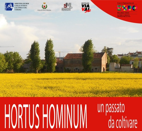 """La locandina della mostra """"Hortus Hominum"""" al museo Archeologico nazionale di Fratta Polesine"""