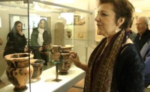 Paola Desantis, direttore del museo Etrusco di Marzabotto