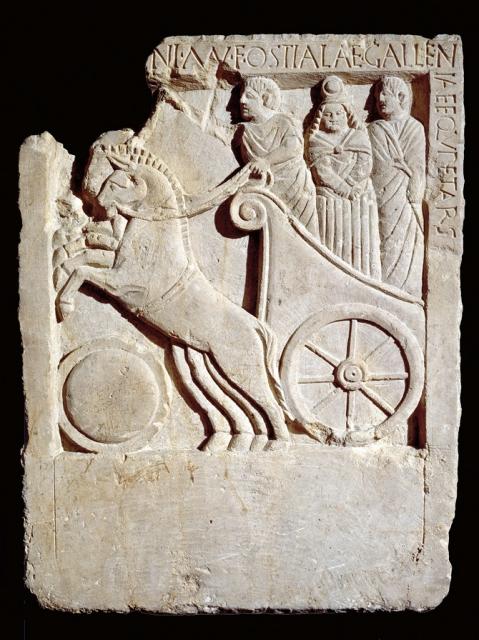 La Stele di Ostiala Gallenia da Padova: presenta un'iscrizione che testimonia la fase di transizione verso la romanizzazione