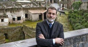 Il soprintendente Massimo Osanna