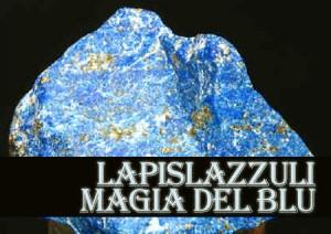 Il lapislazzuli è una roccia composta da diversi minerali