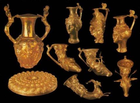Nella mostra al Louvre per la prima volta esposti i tesori dei re dell'Antica Tracia, il regno di Odrisi