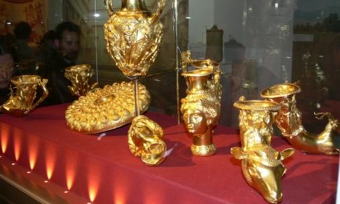 Il famosissimo tesoro d'oro di Panagyurishte fu scoperto nel 1949 nella Bulgaria nord-occidentale