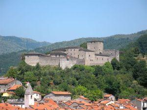 Il castello di Piagnaro sede del museo delle stele a Pontremoli