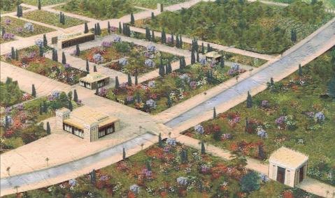 """La ricostruzione del """"giardino persiano"""" di Pasargade, uno dei più antichi restituiti dagli scavi archeologici"""
