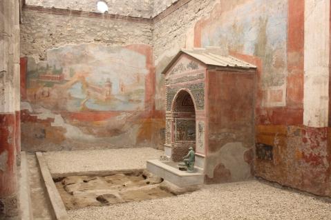 La domus della Fontana Piccola riaperta a Pompei dopo i restauri