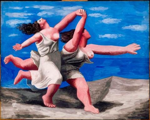 """""""Le due donne che corrono sulla spiaggia"""" di Pablo Picasso"""