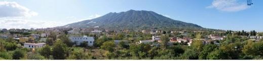 Somma Vesuviana, alle falde del vulcano: qui è stata trovata nel 1930 una villa romana di età augustea