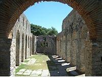 La basilica romana della colonia di Butrinto