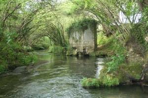 Il fiume Treia a Civita Castellana