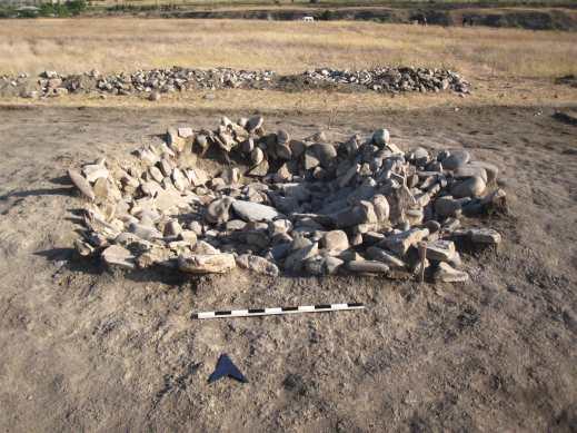 Le importanti strutture di Kura-Araxes scoperte nello scavo ad Aradetis Orgora