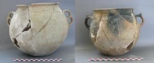 Ceramiche dallo scavo della missione archeologica a  Shida Kartli in Georgia