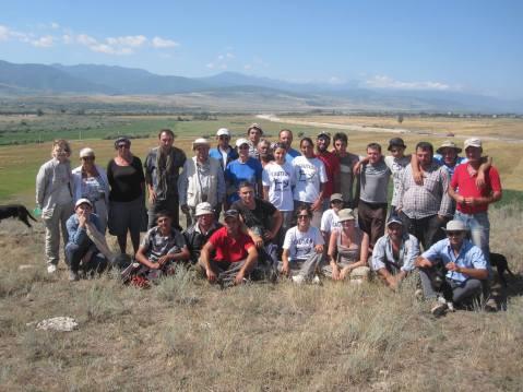 La missione archeologica congiunta diretta da Elena Rova e Iulon Gagoshidze