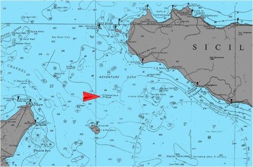 Il monolito è stato trovato grazie agli indizi raccolti dai geologi dall'Istituto Nazionale di Oceanografia e di Geofisica Sperimentale (Ogs) di Trieste