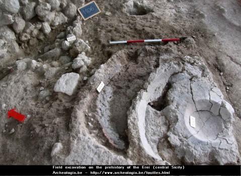 Le fasi più rappresentate sono quelle dell'età del rame recente e del Bronzo antico