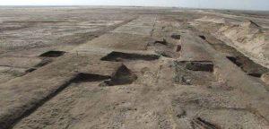 I resti di una fortezza sul Cammino di Horus