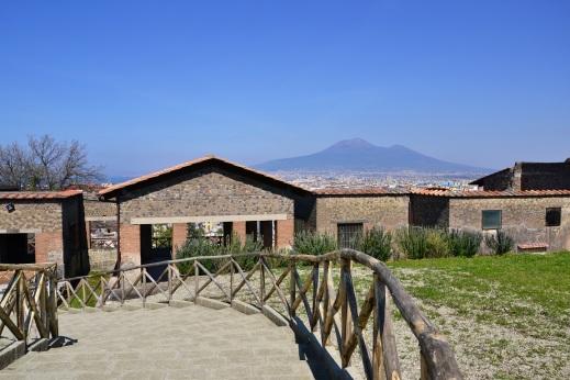 L'ingresso di villa Arianna dell'antica Stabiae: ora per il pubblico sono stati aperti nuovi ambienti