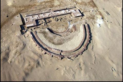 Dalle sabbie del comprensorio di Suez sono riemerse testimonianze dell'Antico Egitto