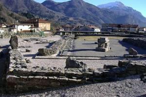Il foro romano dell'antica Iulium Carnicum