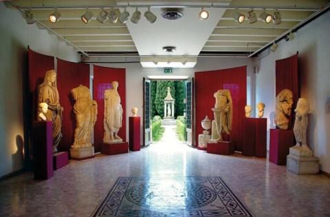 La sezione della Statuaria al museo Archeologico nazionale di Aquileia
