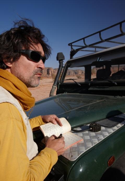 Savino Di Lernia direttore della missione archeologica dell'università La Sapienza in Sahara