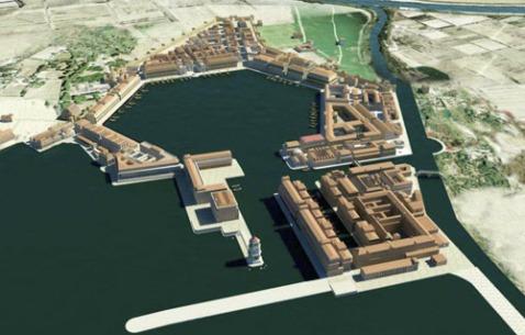 Il porto di Traiano nella ricostruzione della soprintendenza di Ostia e dell'Università di Southampton