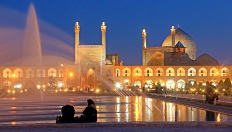 Ultimo saluto da Isfahan prima di lasciare l'Iran