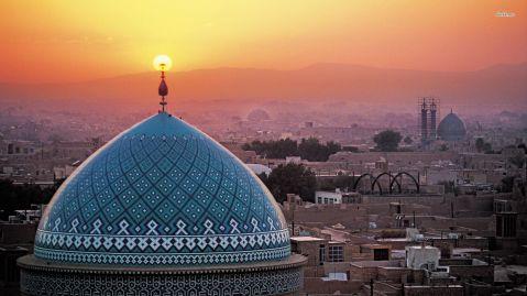 Yazd, al centro geografico dell'Iran, sorge sulla via della Seta