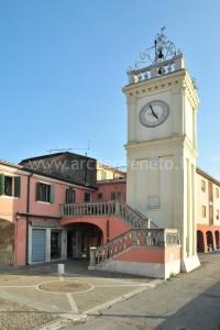 La Torre civica, sede dell'Antiquarium di Loreo