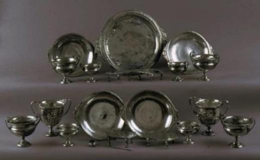 In mostra all'Ara Pacis gli argenti dell'eccezionale tesoro di Moregine, nel comune di Pompei