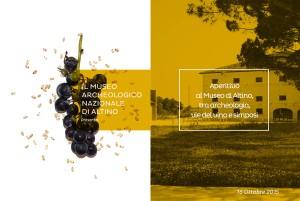 La cartolina-invito all'Aperitivo al museo archeologico di Altino