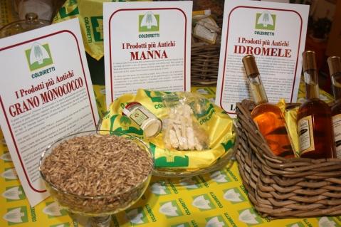 Il grano monococco, la manna e l'idromele: tre prodotti dell'antichità che Coldiretti mette in mostra a Expo Milano