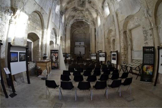 L'ex chiesa di S. Benedetto e S. Chiara sede della rassegna di Licodia Eubea