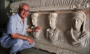 L'archeologo siriano Khaled Asaad, decapitato dall'Isis nel 2015