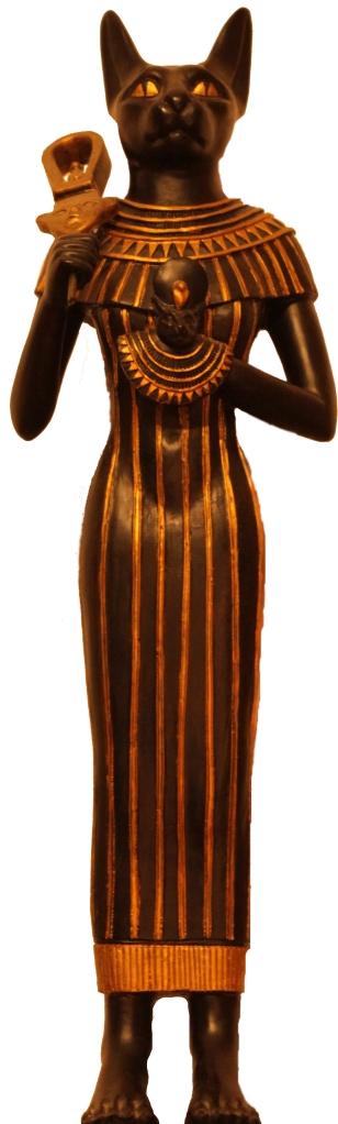 Bastet, nell'Antico Egitto era la dea della femminilità, della maternità e del focolare domestico