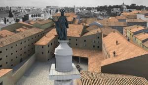 Nel tardo Medioevo sull'area del foro di Traiano insisteva un intero quartiere