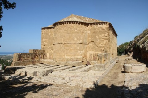 Il tempio di Demetra ad Agrigento su cui insiste la chiesa di San Biagio