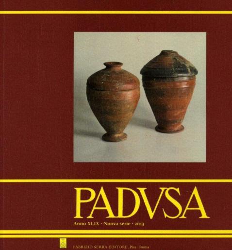 Un numero della rivista del Cpssae, Padusa: nel 2015 è uscito il numero n° 50