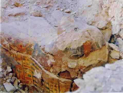 Il sarcofago della cantrice del dio Amon ritrovato nella tomba del visir Amenhotep Huy a Luxor