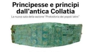 """Principesse e principi dall'antica Collatia: è la nuova sala della sezione """"Protostoria dei popoli latini"""""""
