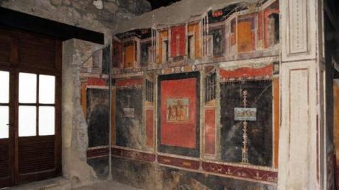 Una domus affrescata di Pompei: il 24 dicembre se ne aprono sei appena restaurate