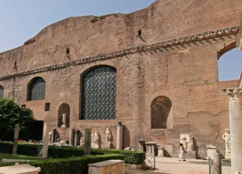 Le Terme di Diocleziano a Rom sede del museo nazionale Romano