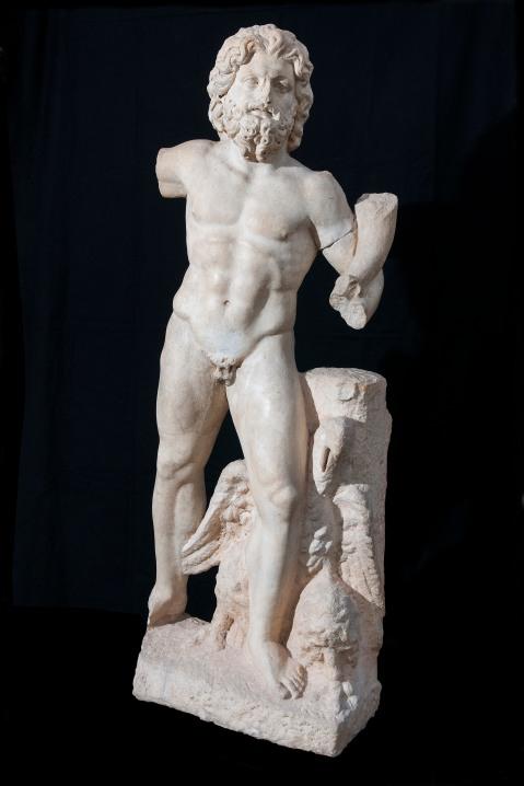 La statua di Giove con cornucopia proveniente da Oued R'mel (foto di Gianluca Baronchelli)