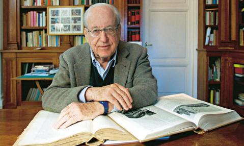 L'archeologo Andrea Carandini, tra i massimi esperti di Roma antica, oggi presidente del Fai