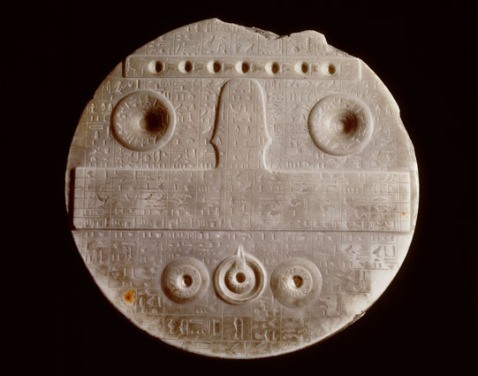 Tavola per le offerte di Defdji dal museo di Leiden