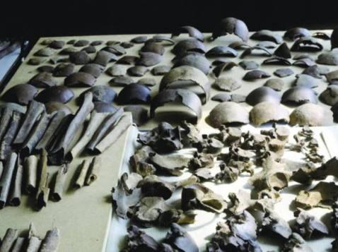 Armi e ossa umane: è quanto è rimasto a testimoniare la battaglia di Cesare contro Usipeti e Tencteri (Università di Vrije di Amsterdam)
