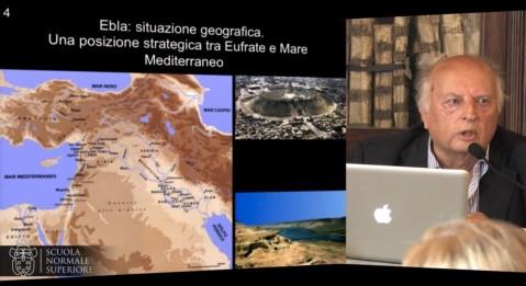 L'archeologo Paolo Matthiae, scopritore di Ebla, per quasi 50 anni ha operato in Siria